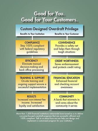 Pinnacle OverdraftPrivilege Benefits Chart 2